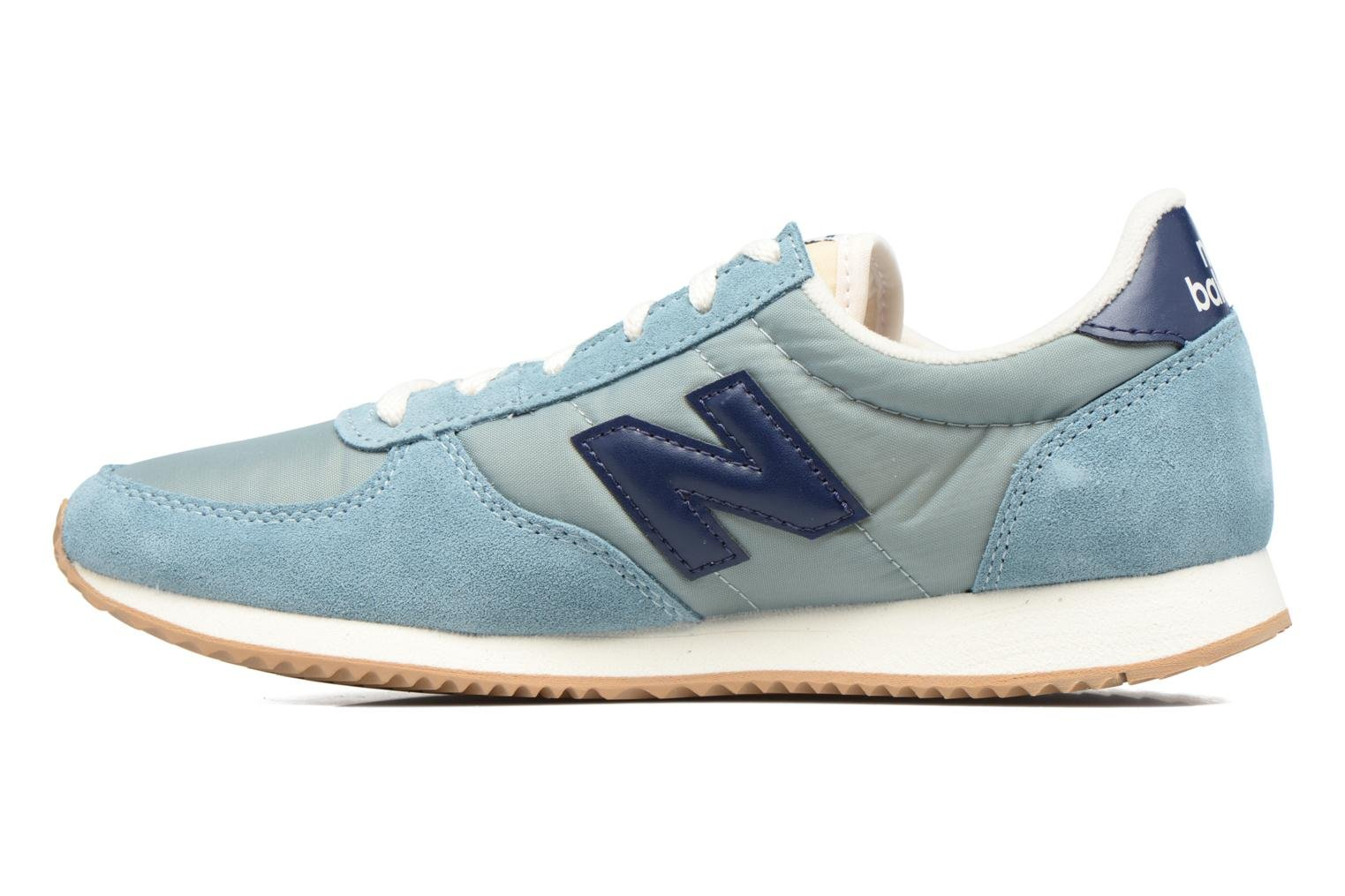Baskets New Balance WL220 Bleu vue face