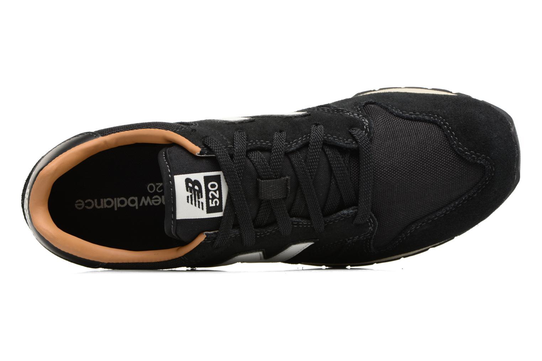 Baskets New Balance U520 Noir vue gauche