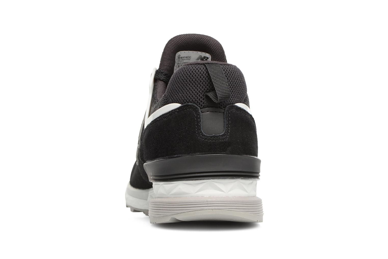 Sneakers New Balance MS574 Nero immagine destra
