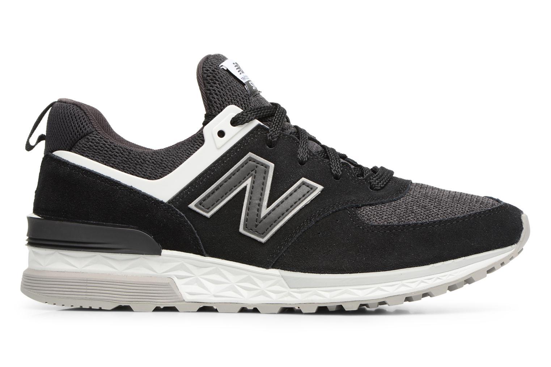 Sneakers New Balance MS574 Nero immagine posteriore