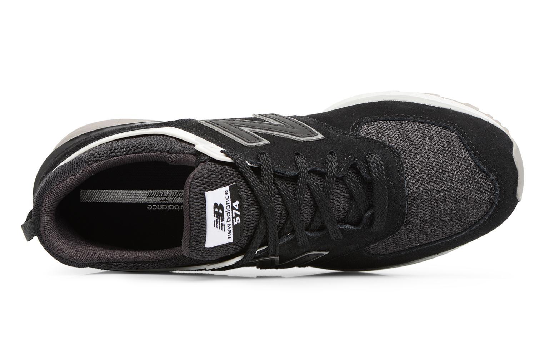 Sneakers New Balance MS574 Nero immagine sinistra
