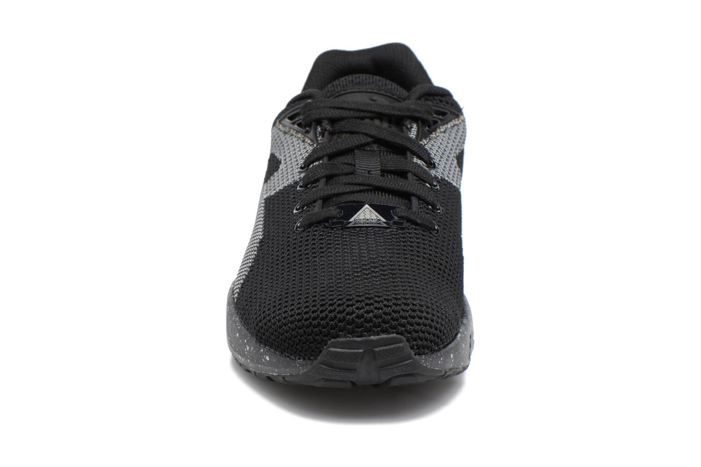 Baskets Puma Trinomic R698 Knit Speckle W Noir vue portées chaussures