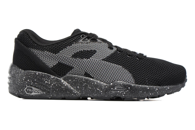 Sneakers Puma Trinomic R698 Knit Speckle W Zwart achterkant