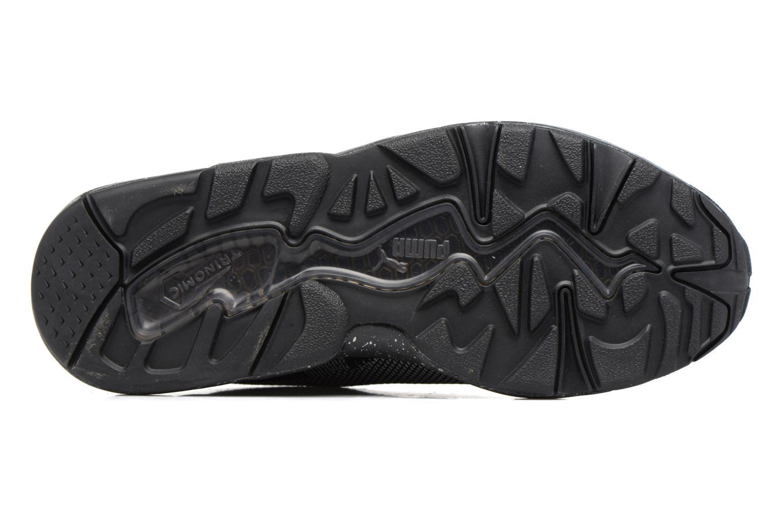Baskets Puma Trinomic R698 Knit Speckle W Noir vue haut