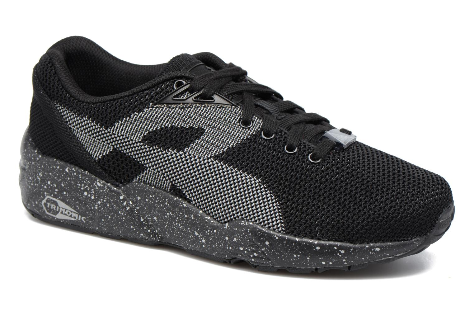 Puma Trinomic R698 Knit Speckle W (Noir) - Baskets chez Sarenza (303528)