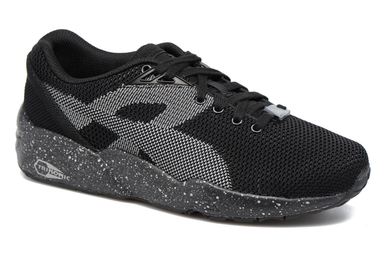 Baskets Puma Trinomic R698 Knit Speckle W Noir vue détail/paire