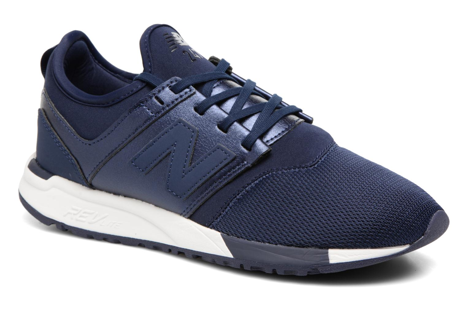 Trainers New Balance WRL247 B Blue detailed view/ Pair view