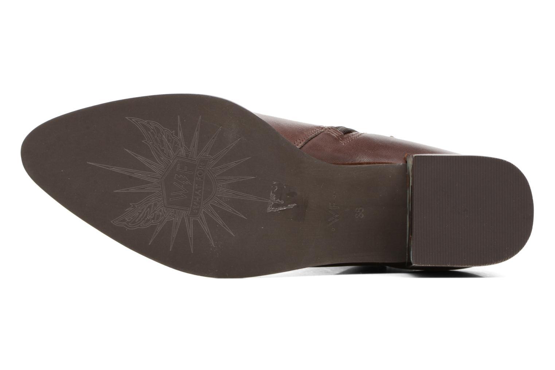 Bottines et boots What For Freda Calf Marron vue haut