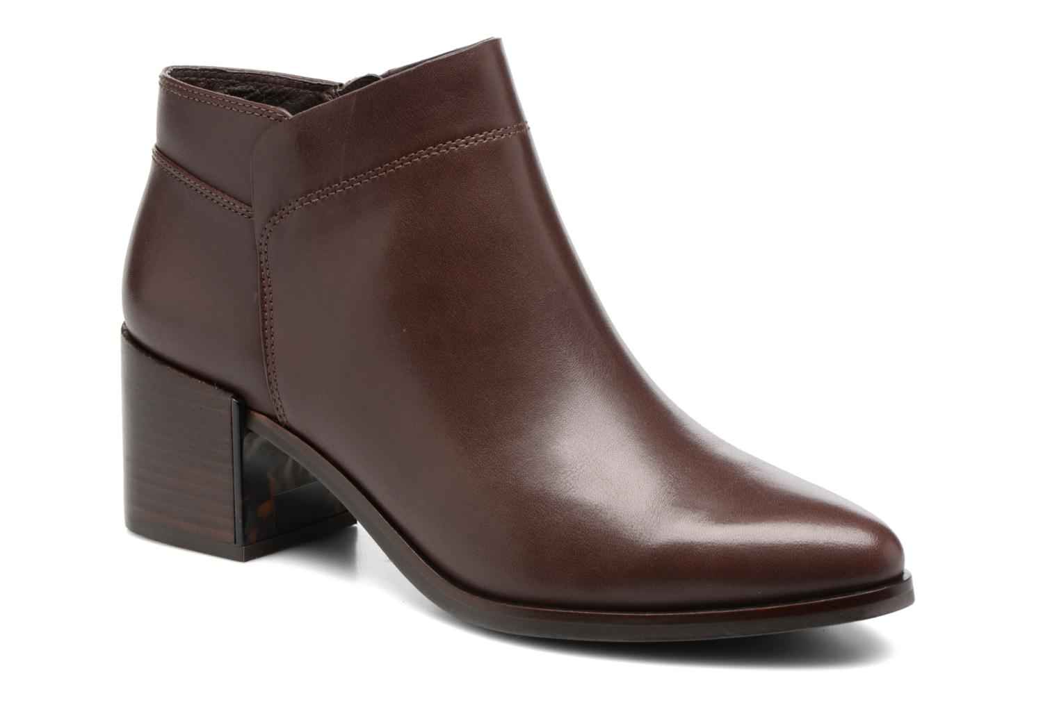 Bottines et boots What For Freda Calf Marron vue détail/paire