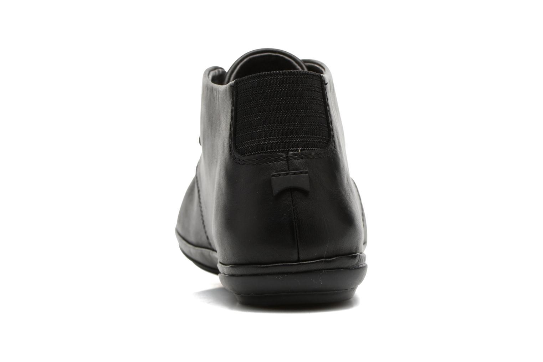 Chaussures à lacets Camper Right Nina K400221 Noir vue droite