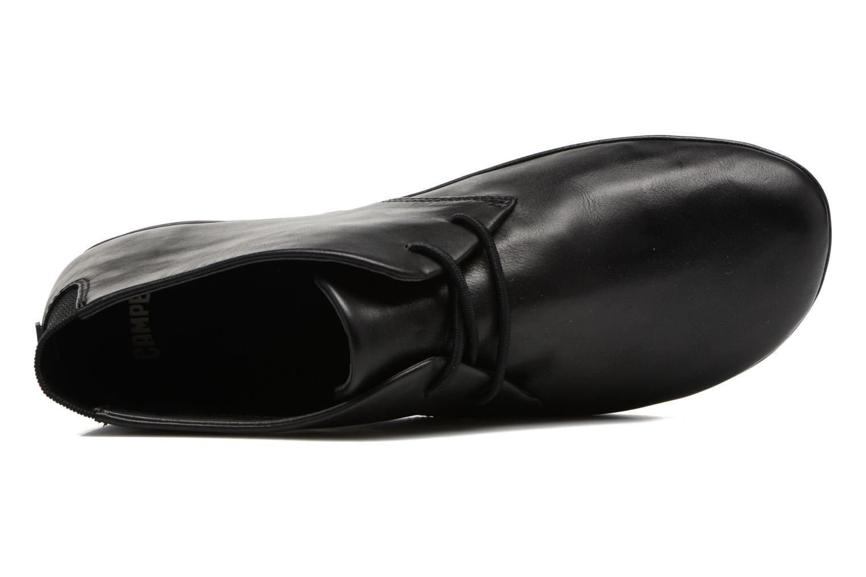 Chaussures à lacets Camper Right Nina K400221 Noir vue gauche