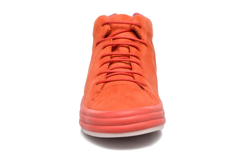Baskets Camper Hoops K400206 Rouge vue portées chaussures