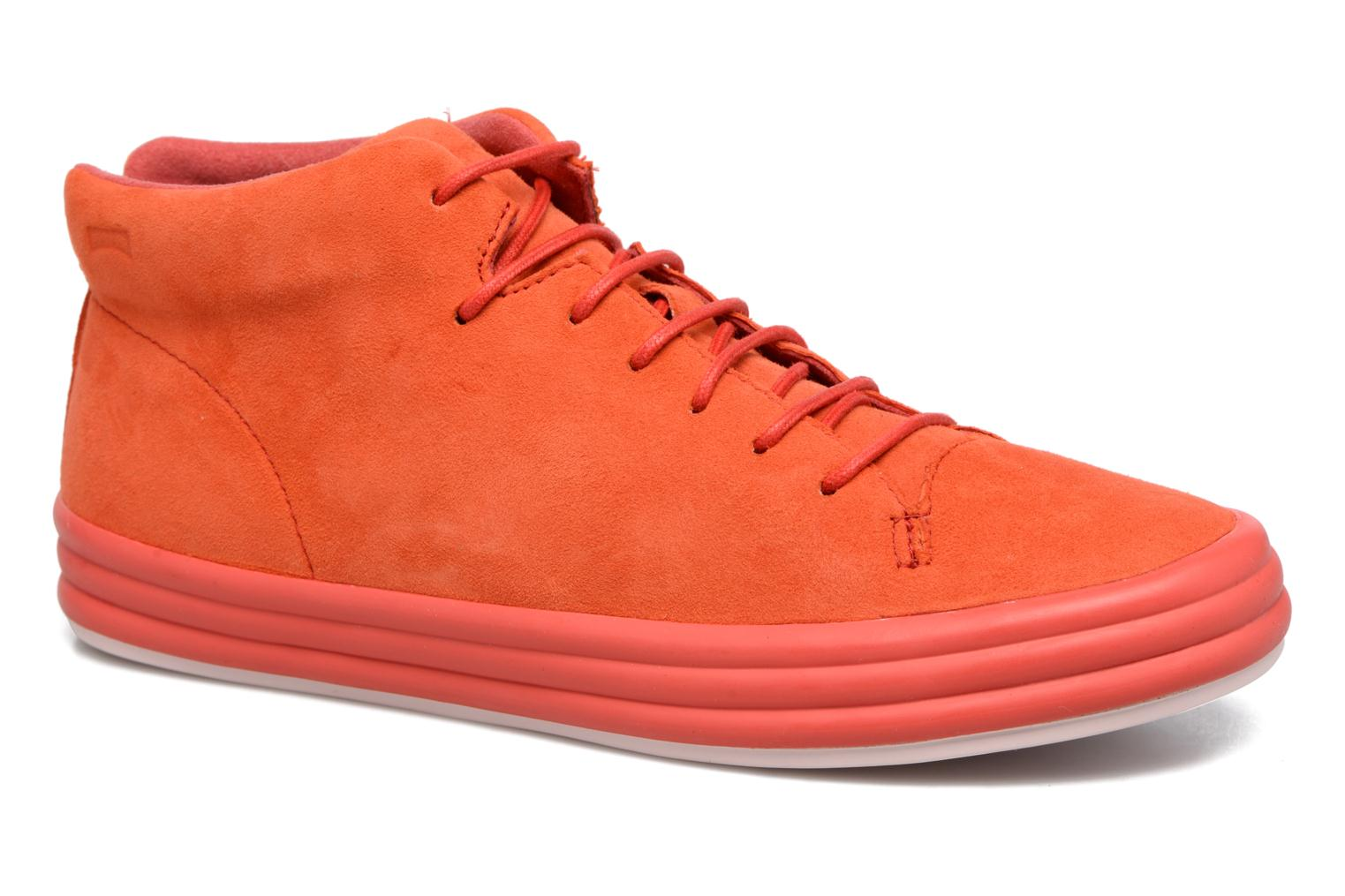 Trainers Camper Hoops K400206 Red detailed view/ Pair view