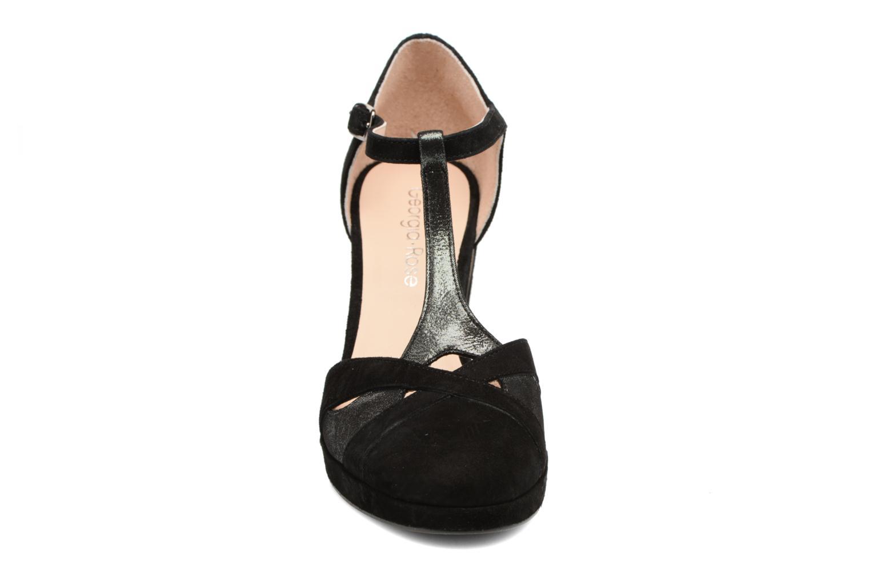Escarpins Georgia Rose Colysée Noir vue portées chaussures