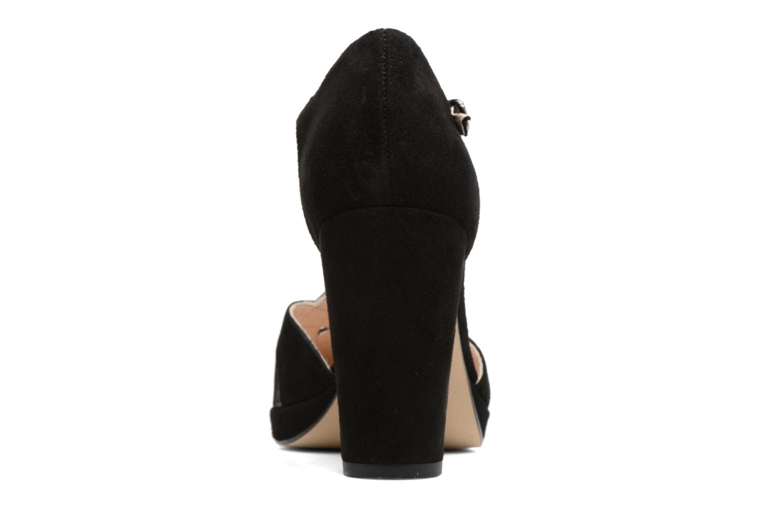 High heels Georgia Rose Colysée Black view from the right