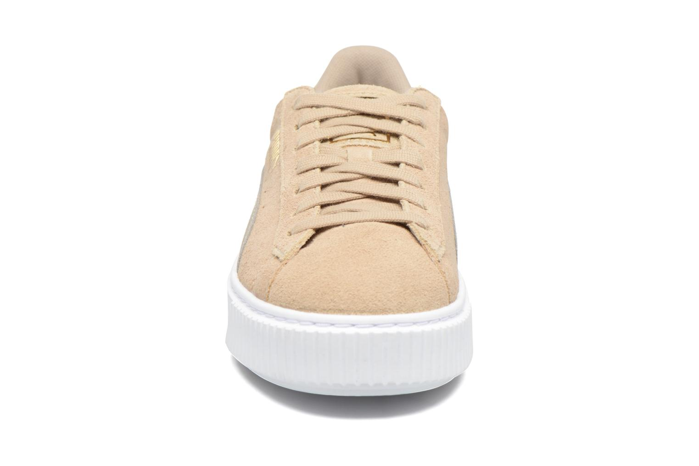 Sneakers Puma Wns Basket Platform Safa Beige model