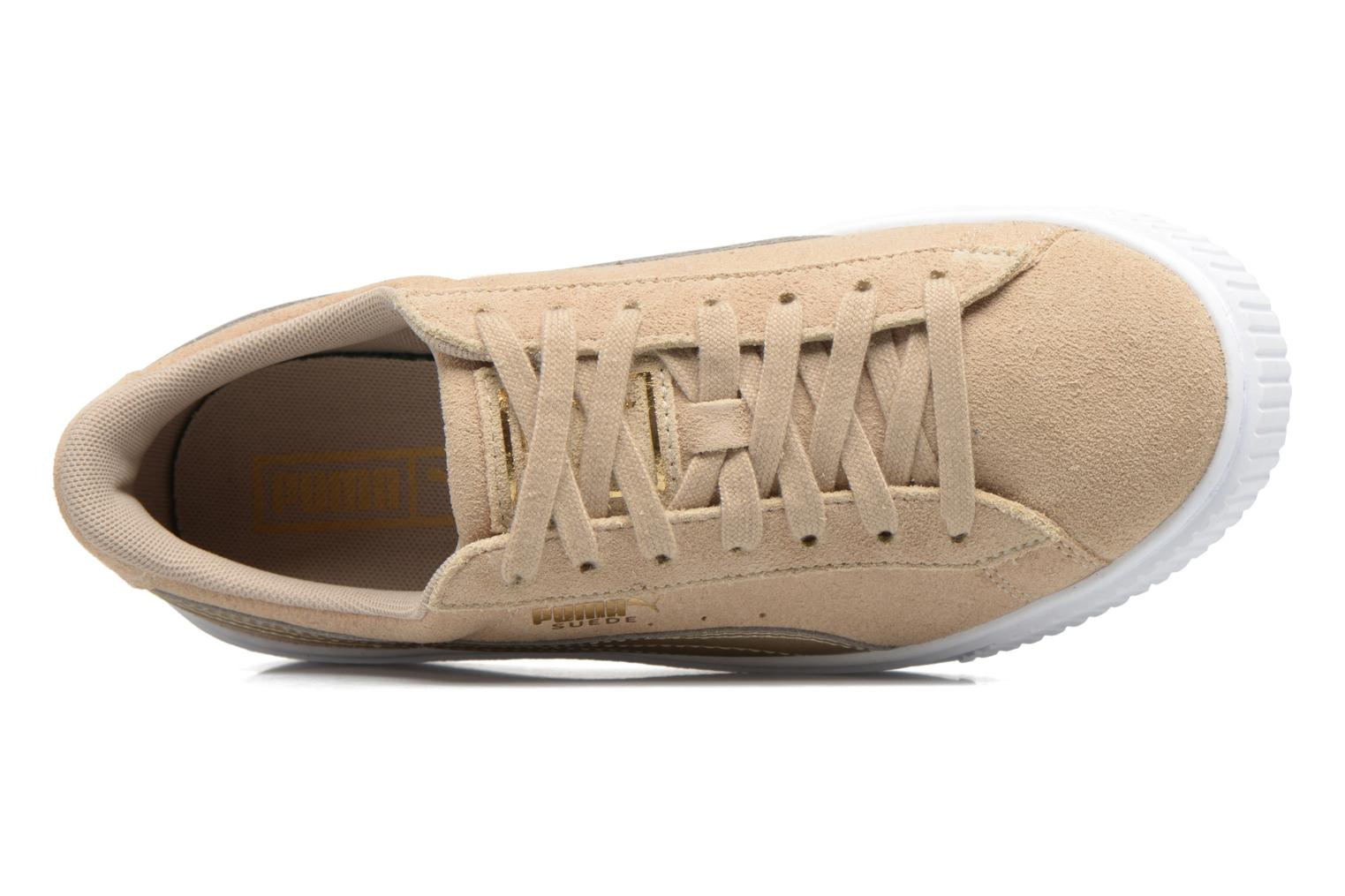 Sneakers Puma Wns Basket Platform Safa Beige links