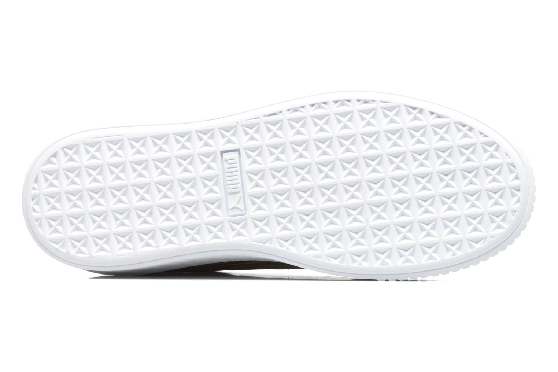 Sneakers Puma Wns Basket Platform Safa Beige boven