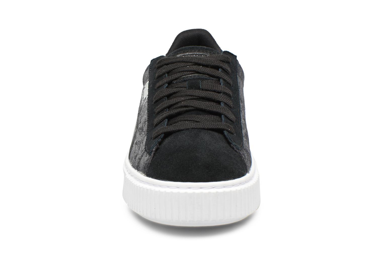 Baskets Puma Wns Basket Platform Safa Noir vue portées chaussures