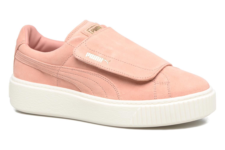 Zapatos promocionales Puma Wns Suede Plat Bigv (Rosa) - Deportivas   Cómodo y bien parecido