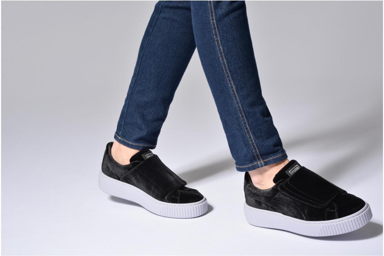 Sneakers Puma Wns Basket Platform S Vr.O Zwart onder