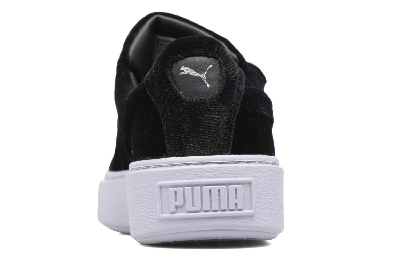 Sneakers Puma Wns Basket Platform S Vr.O Nero immagine destra