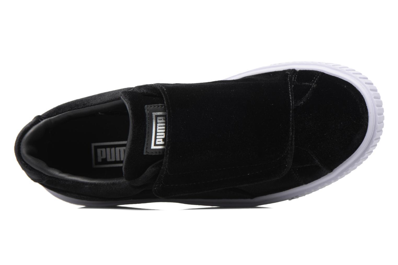 Sneakers Puma Wns Basket Platform S Vr.O Nero immagine sinistra