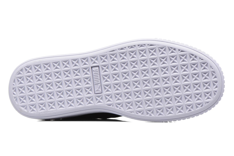 Sneakers Puma Wns Basket Platform S Vr.O Nero immagine dall'alto