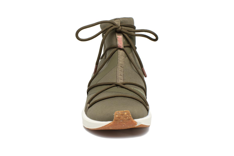 Chaussures de sport Puma Wns Fierce Rope Vert vue portées chaussures