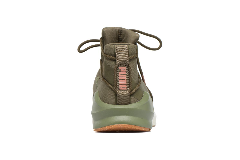 Chaussures de sport Puma Wns Fierce Rope Vert vue droite
