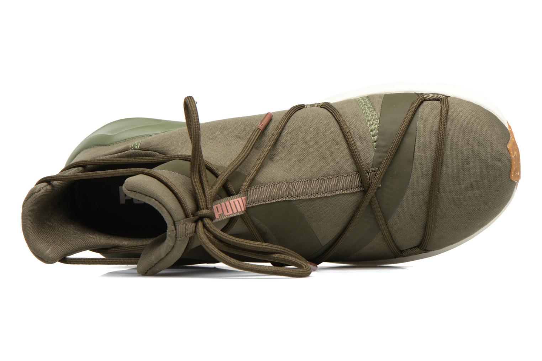 Chaussures de sport Puma Wns Fierce Rope Vert vue gauche