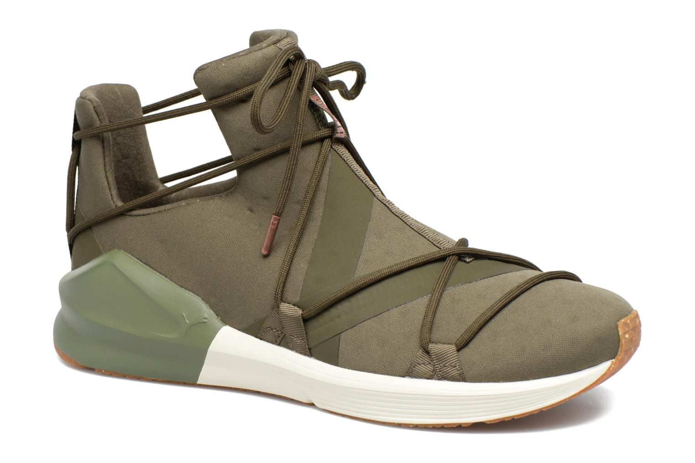 Zapatos promocionales Puma Wns Fierce Rope (Verde) - Zapatillas de deporte   Zapatos casuales salvajes