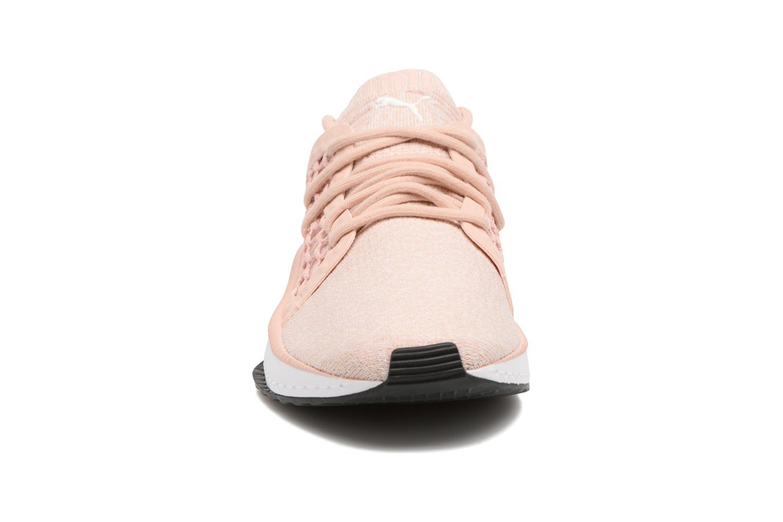Baskets Puma Wns Tsugi Net Evknit Rose vue portées chaussures