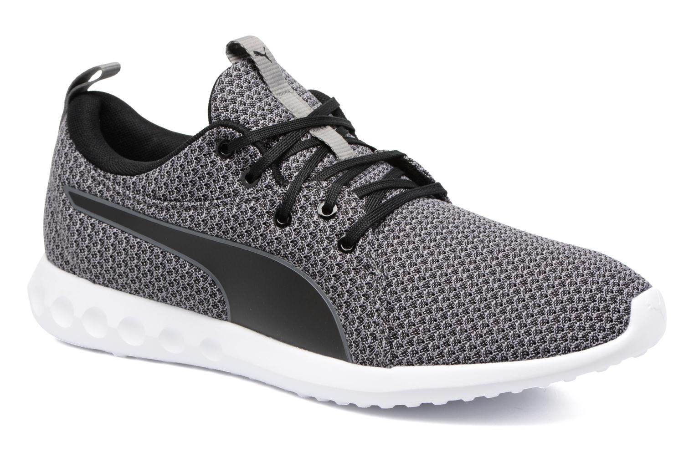 Chaussures de sport Puma Carson 2 Knit Noir vue détail/paire