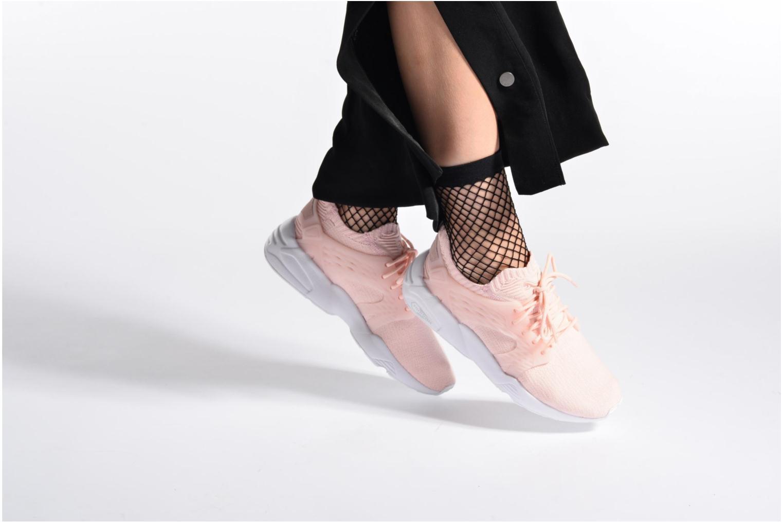 Sneakers Puma Wns Blaze Cage Knit Bianco immagine dal basso