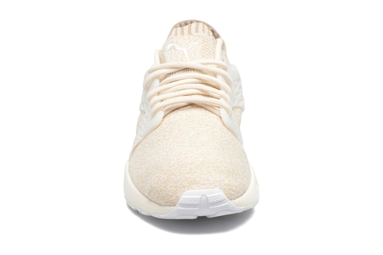 Sneakers Puma Wns Blaze Cage Knit Bianco modello indossato
