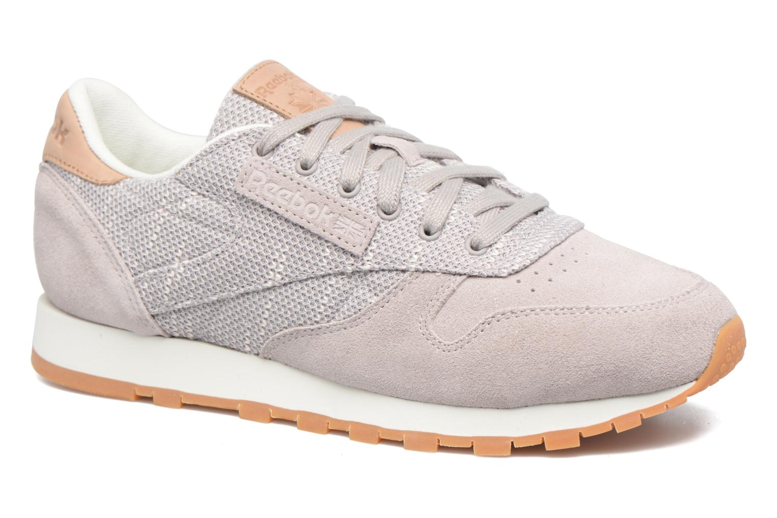 Reebok Cl Leather Ebk (Gris) - Baskets chez Sarenza (303765)