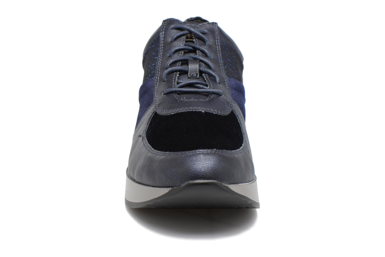 Baskets Stonefly Face 5 Bleu vue portées chaussures