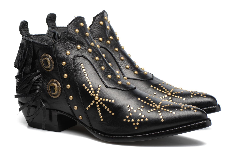 Bottines et boots Mexicana Corus 3 Noir vue 3/4