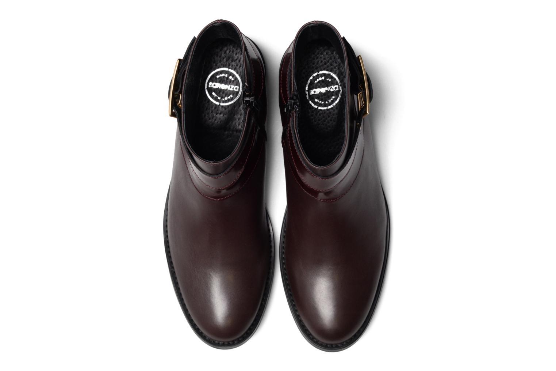 Bottines et boots Made by SARENZA Boots Camp #23 Bordeaux vue portées chaussures