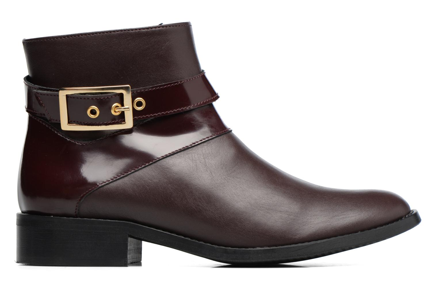 Ankle boots Made by SARENZA Boots Camp #23 Burgundy detailed view/ Pair view