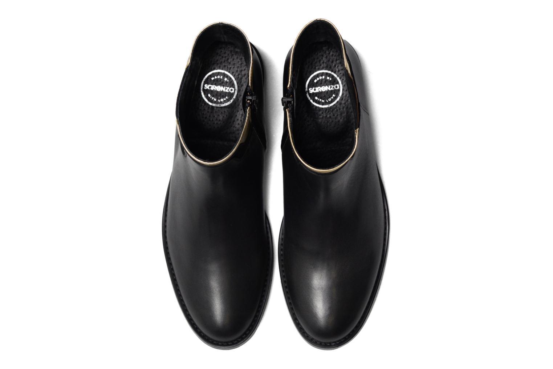 Boots Camp #21 Cuir Lisse Noir