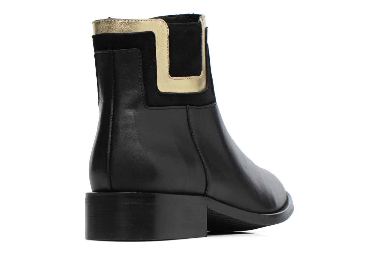 Bottines et boots Made by SARENZA Boots Camp #21 Noir vue face