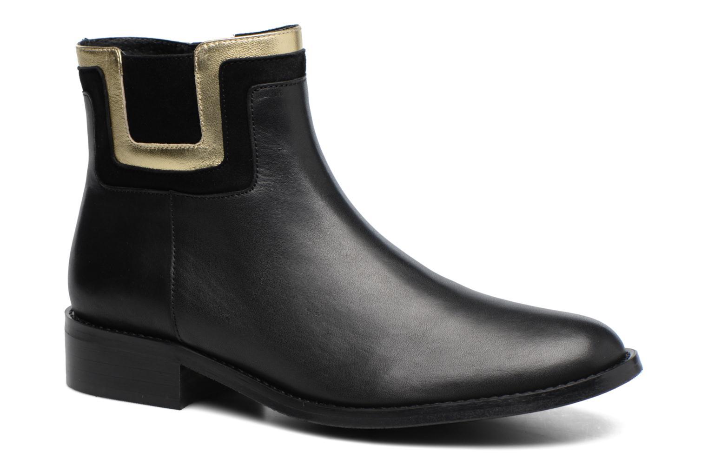 Bottines et boots Made by SARENZA Boots Camp #21 Noir vue droite