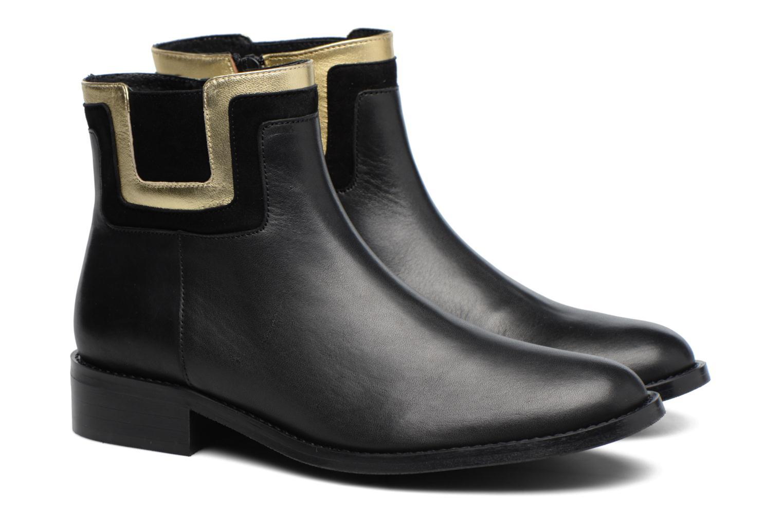 Bottines et boots Made by SARENZA Boots Camp #21 Noir vue derrière