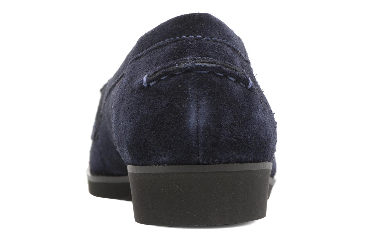 Loafers Hush Puppies Amya Blue view from the right