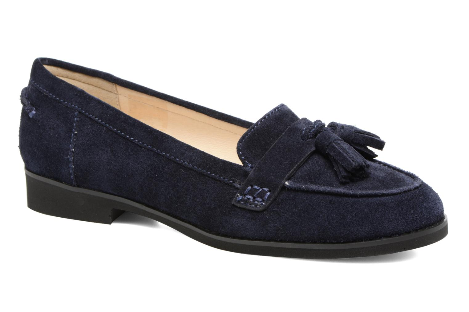 Loafers Hush Puppies Amya Blue detailed view/ Pair view