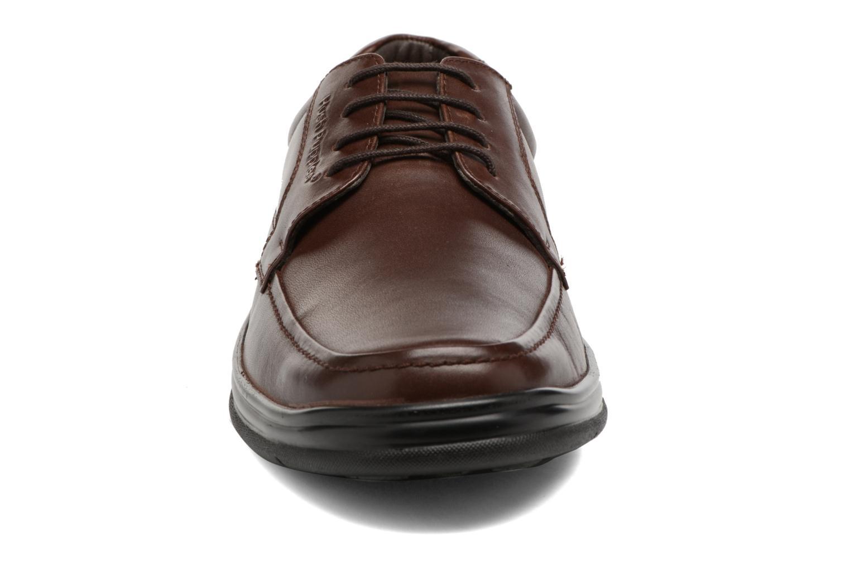 Chaussures à lacets Hush Puppies Cobi Marron vue portées chaussures