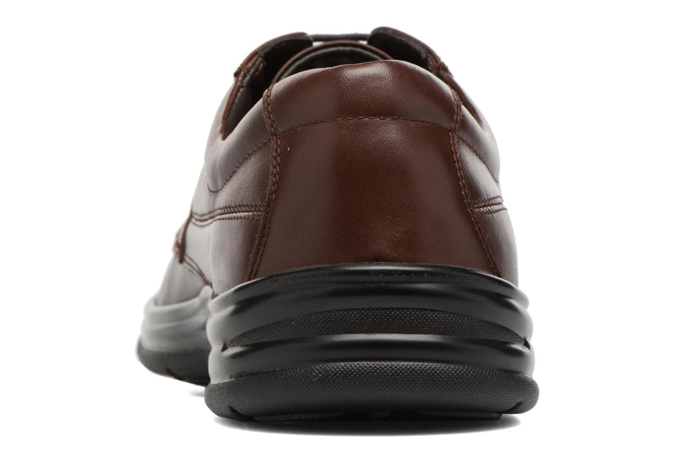Chaussures à lacets Hush Puppies Cobi Marron vue droite