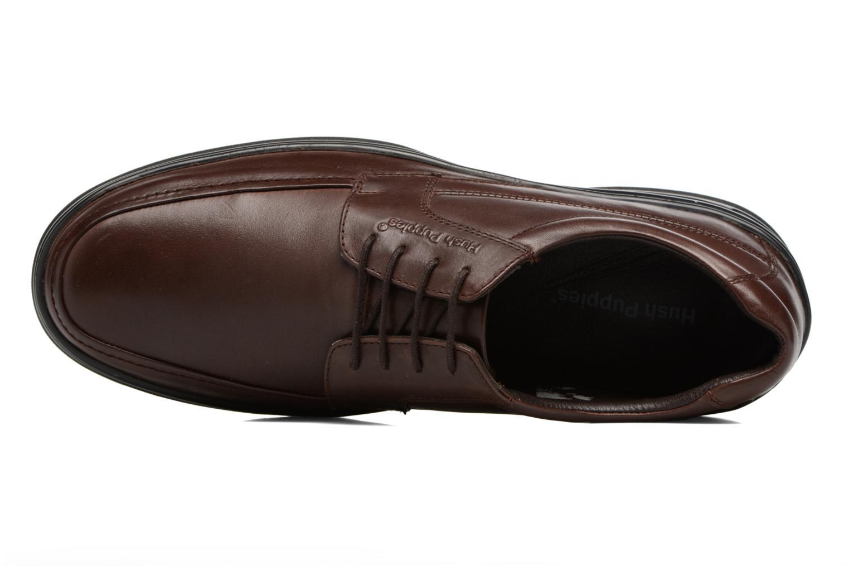 Chaussures à lacets Hush Puppies Cobi Marron vue gauche